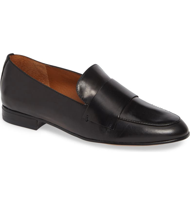 SARTO BY FRANCO SARTO Kip Loafer, Main, color, BLACK LEATHER