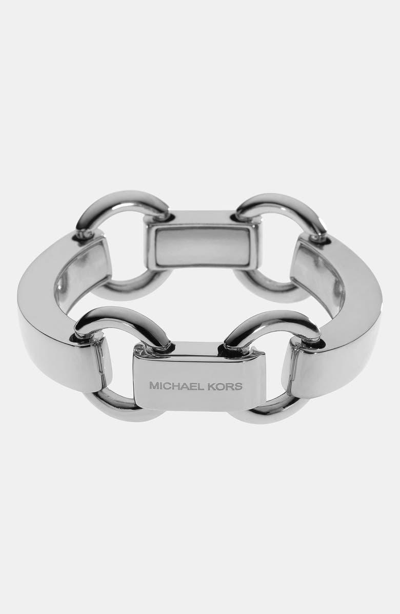 MICHAEL MICHAEL KORS Michael Kors 'Equestrian Luxury' Link Bracelet, Main, color, 040