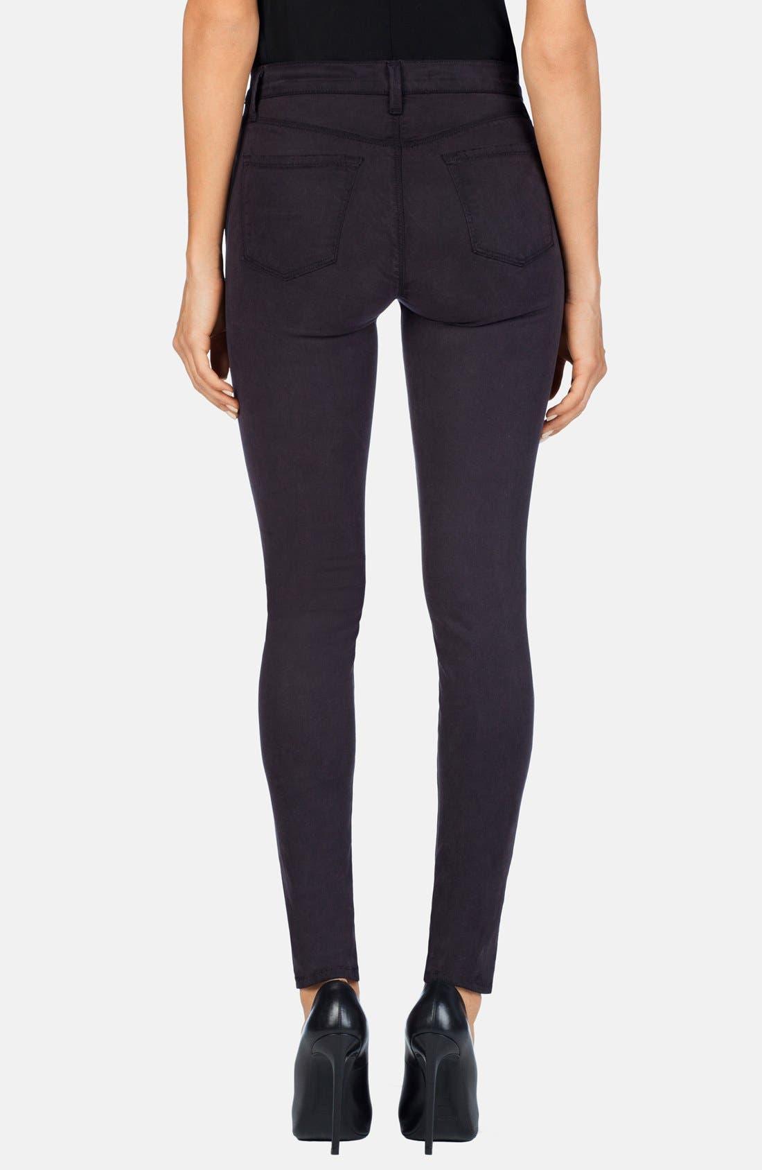 ,                             '485' Mid Rise Super Skinny Jeans,                             Alternate thumbnail 15, color,                             202