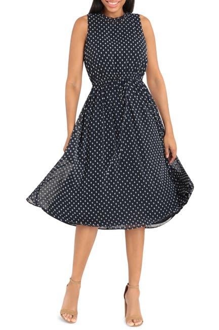 Image of Maggy London Tie Waist Dress