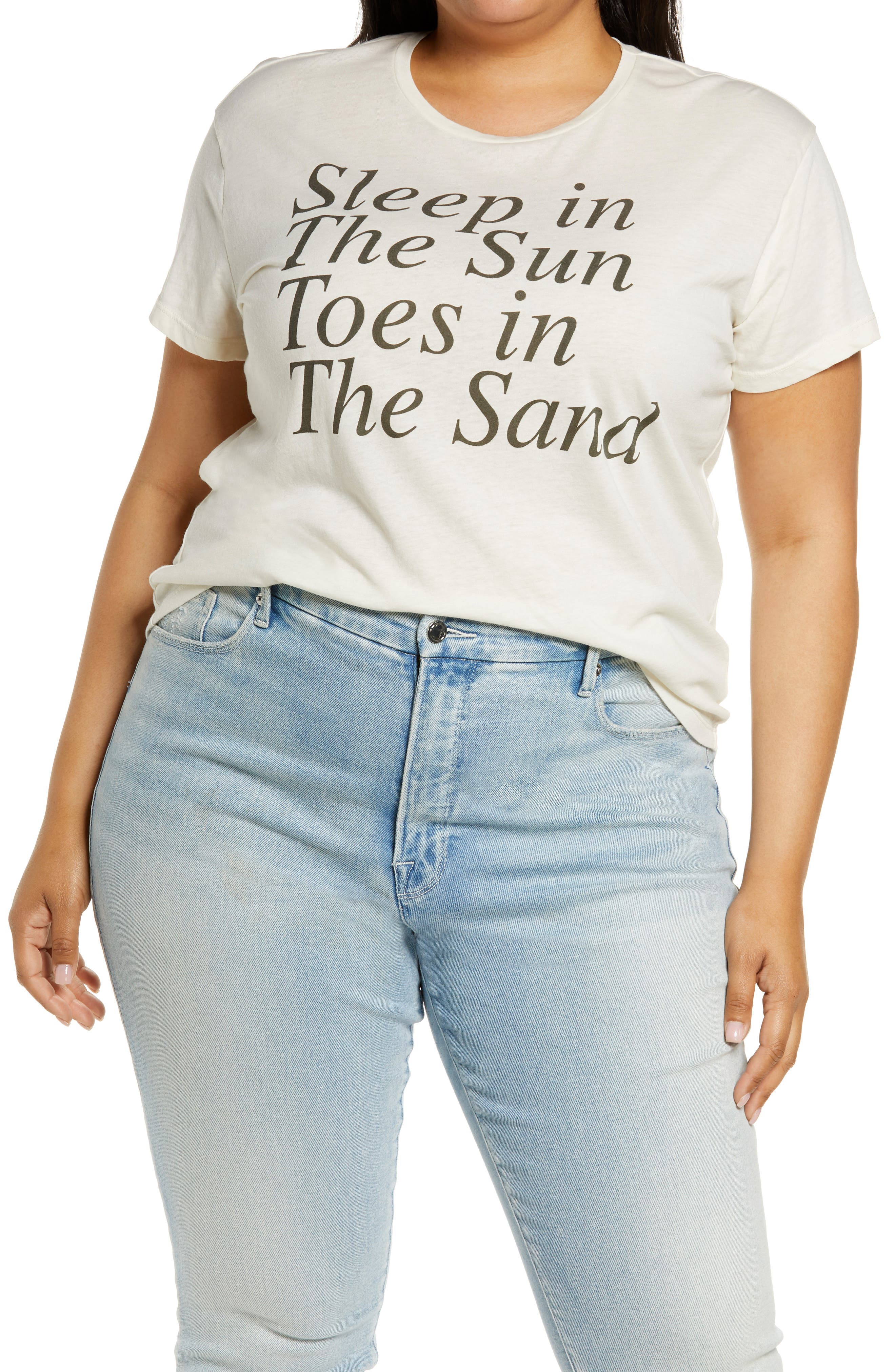 Sun & Sand Graphic Jersey Tee