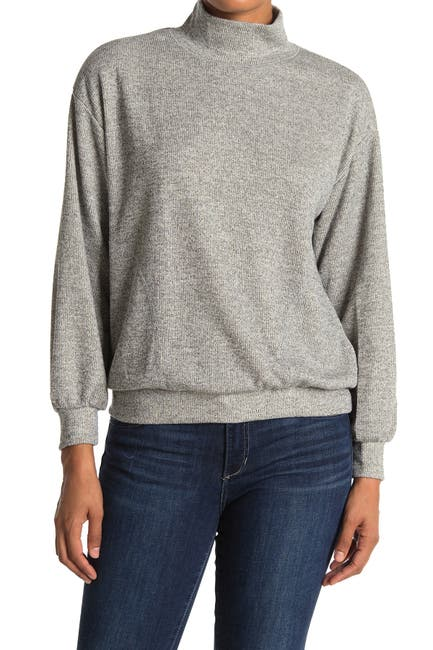 Image of Lush Mock Neck Sweater