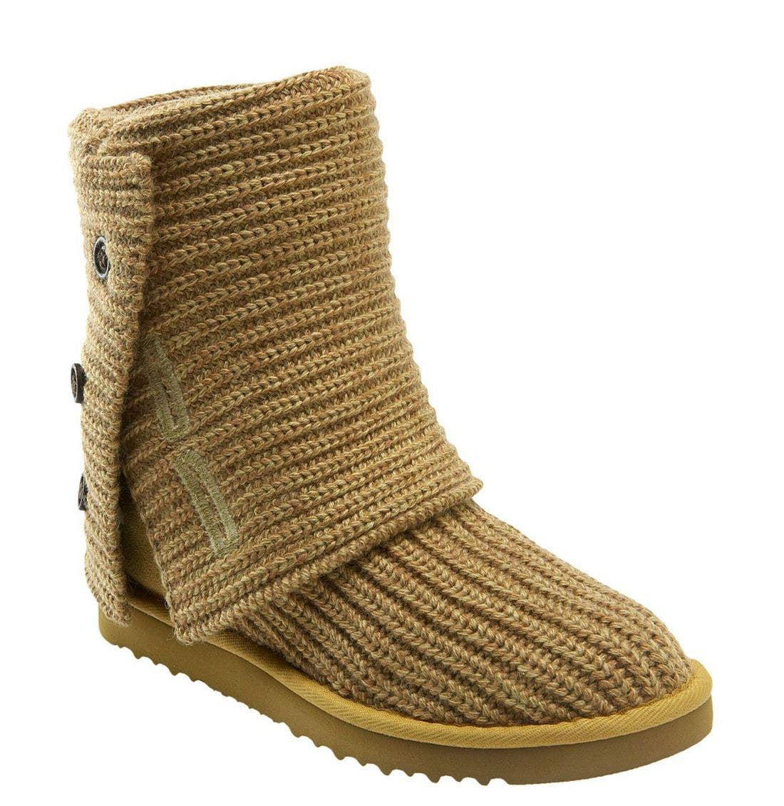 ,                             'Cardy' Classic Knit Boot,                             Main thumbnail 79, color,                             OAT