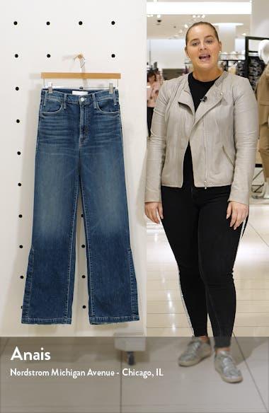 The Hustler Sidewinder High Waist Split Wide Leg Jeans, sales video thumbnail