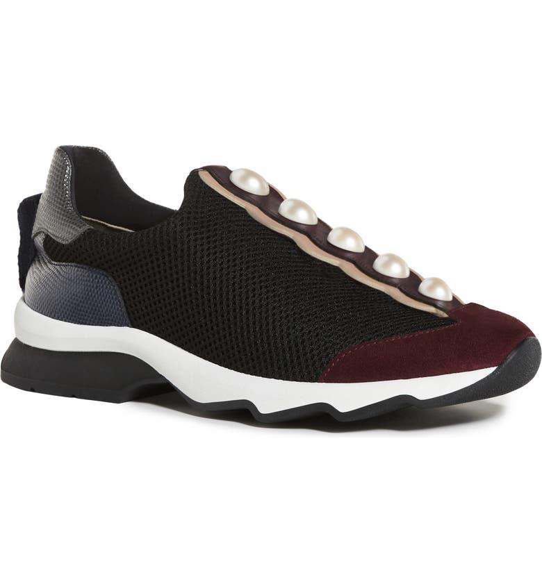 FENDI Pearland Slip-On Sneaker, Main, color, 013