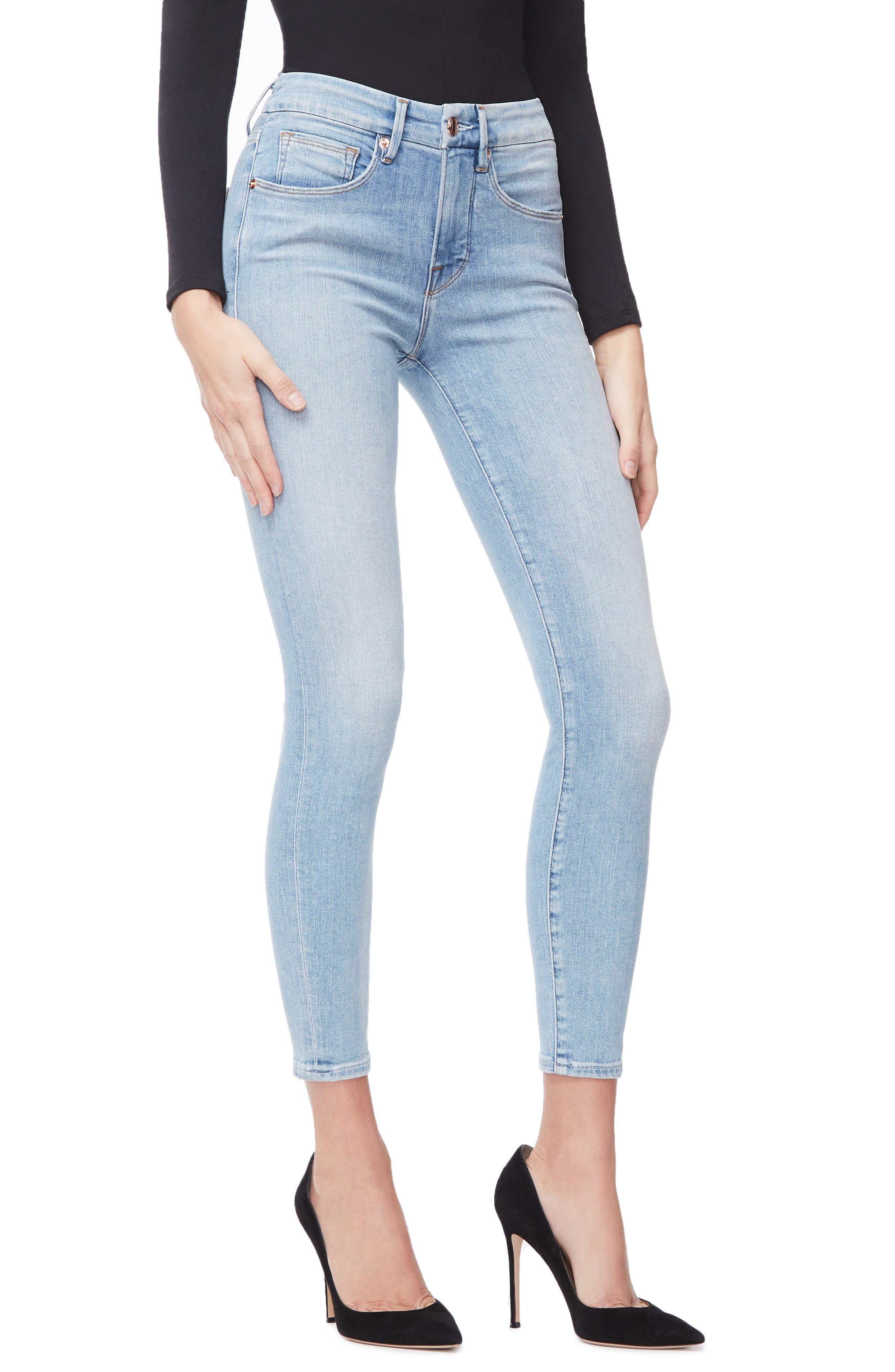 ,                             Good Legs Ankle Skinny Jeans,                             Alternate thumbnail 26, color,                             404