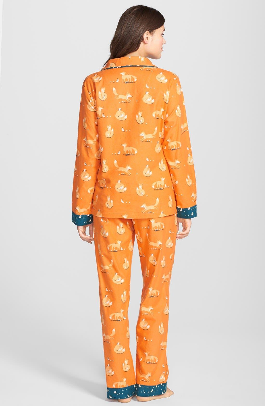 ,                             Flannel Pajamas,                             Alternate thumbnail 105, color,                             810