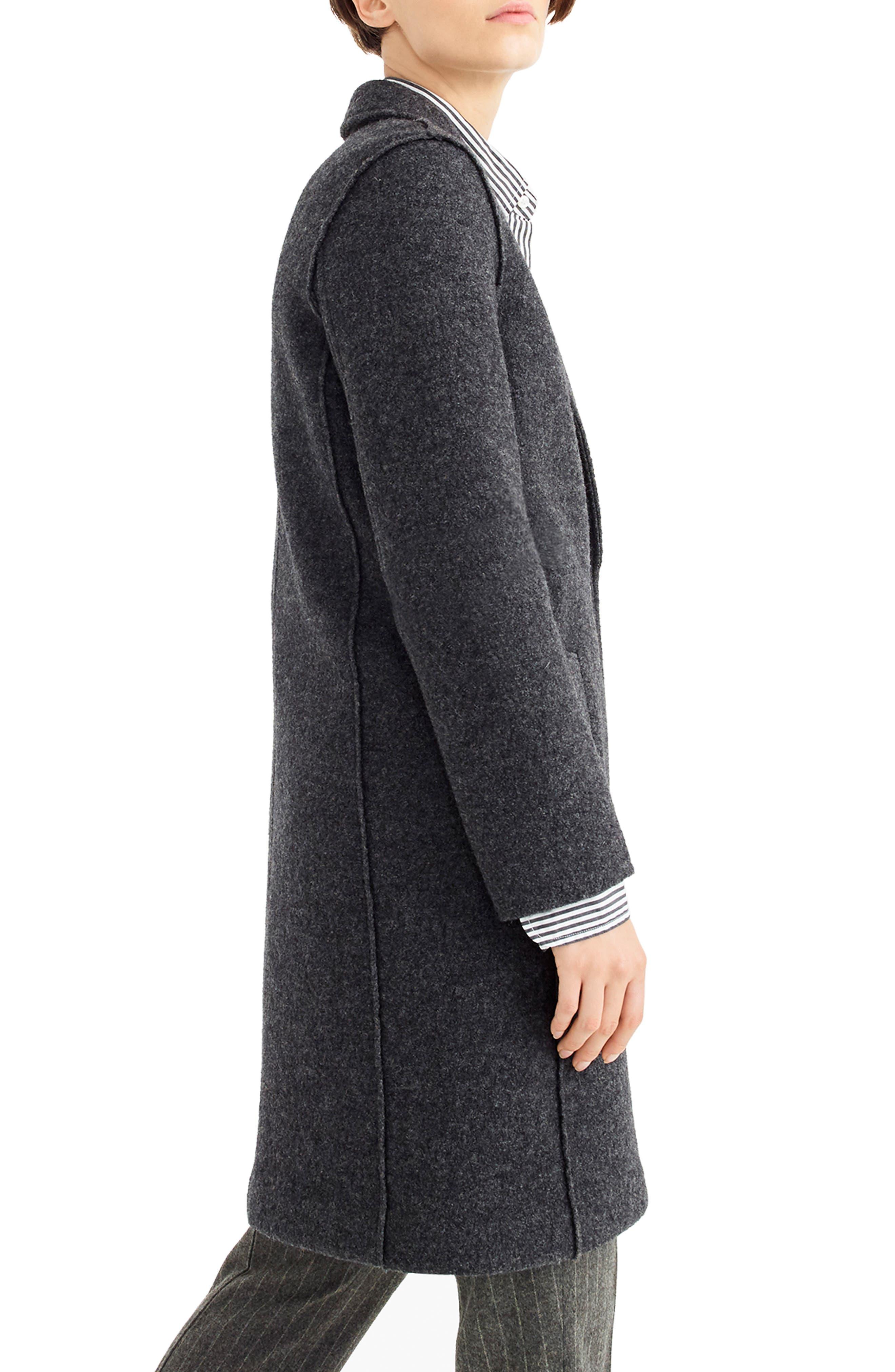 ,                             Daphne Boiled Wool Topcoat,                             Alternate thumbnail 22, color,                             091