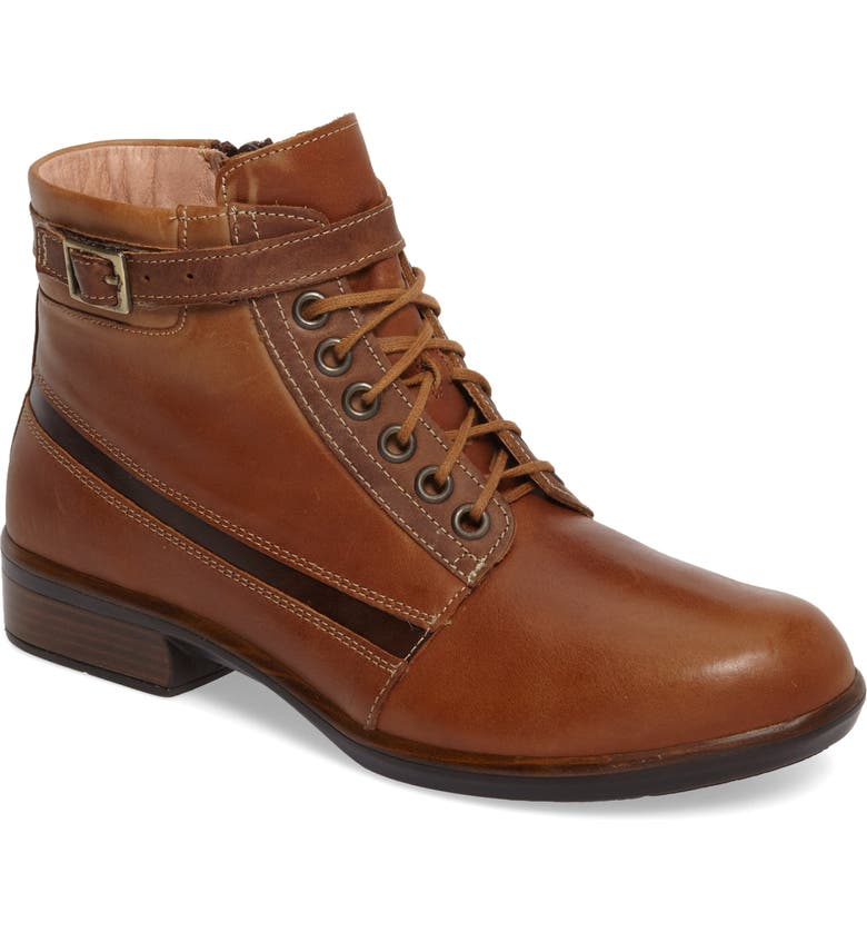 NAOT Kona Boot, Main, color, VINTAGE CAMEL LEATHER