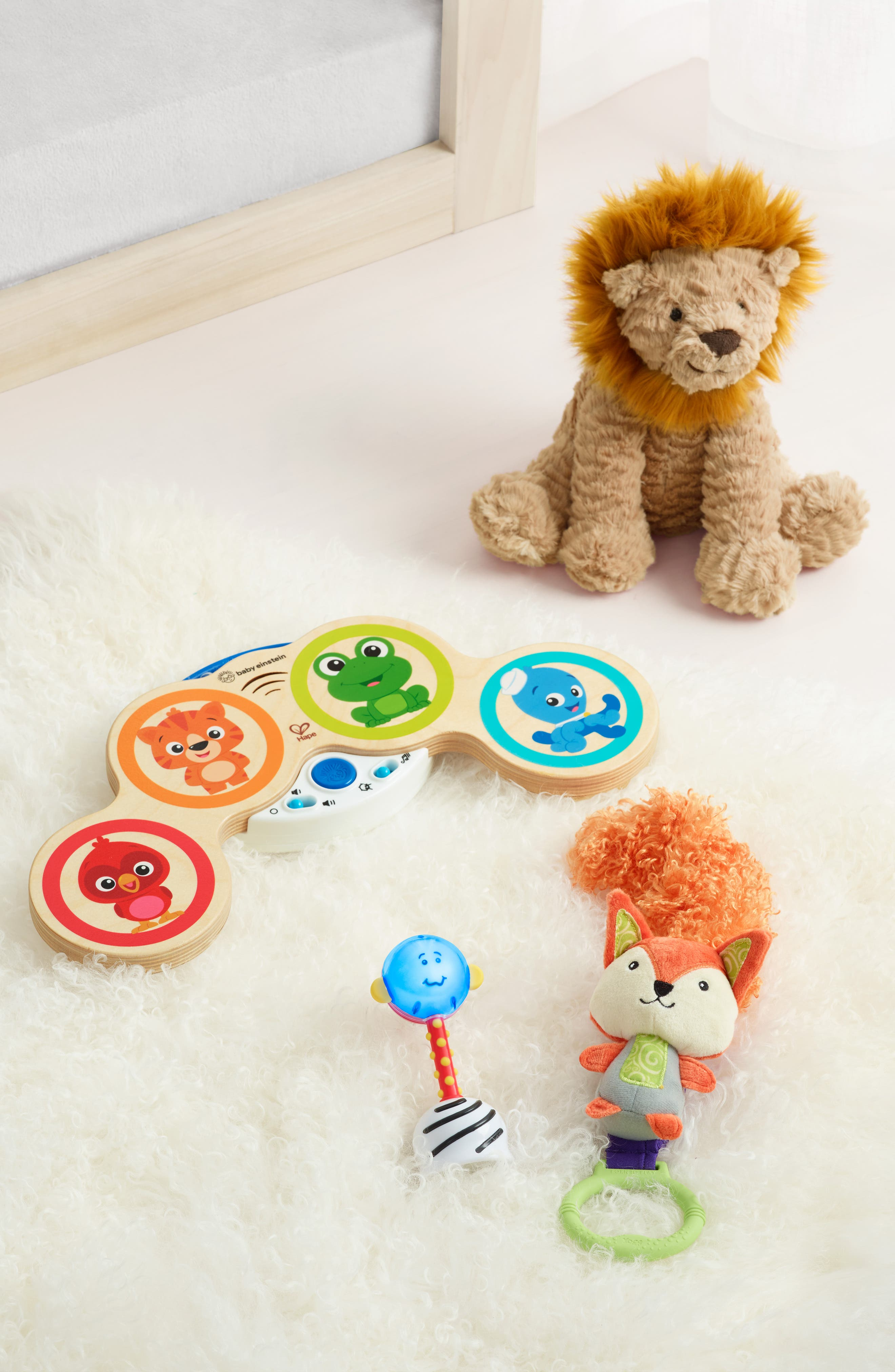 ,                             'Fuddlewuddle Lion' Stuffed Animal,                             Alternate thumbnail 3, color,                             BROWN