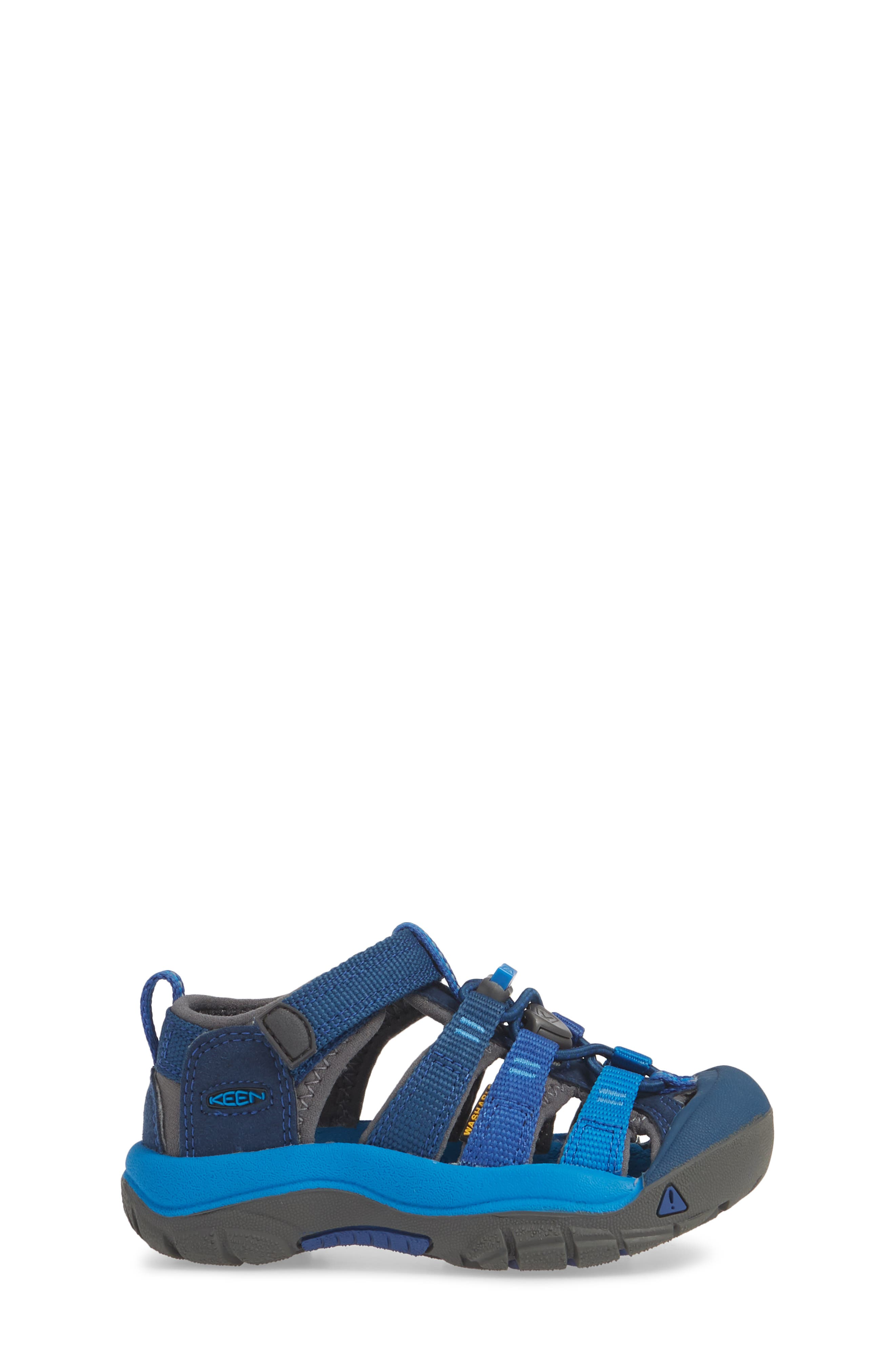 ,                             'Newport H2' Water Friendly Sandal,                             Alternate thumbnail 3, color,                             BLUE OPAL/ VIBRANT BLUE