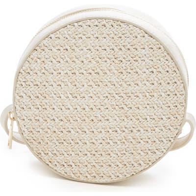 Sole Society Apryl Circle Crossbody Bag - Ivory