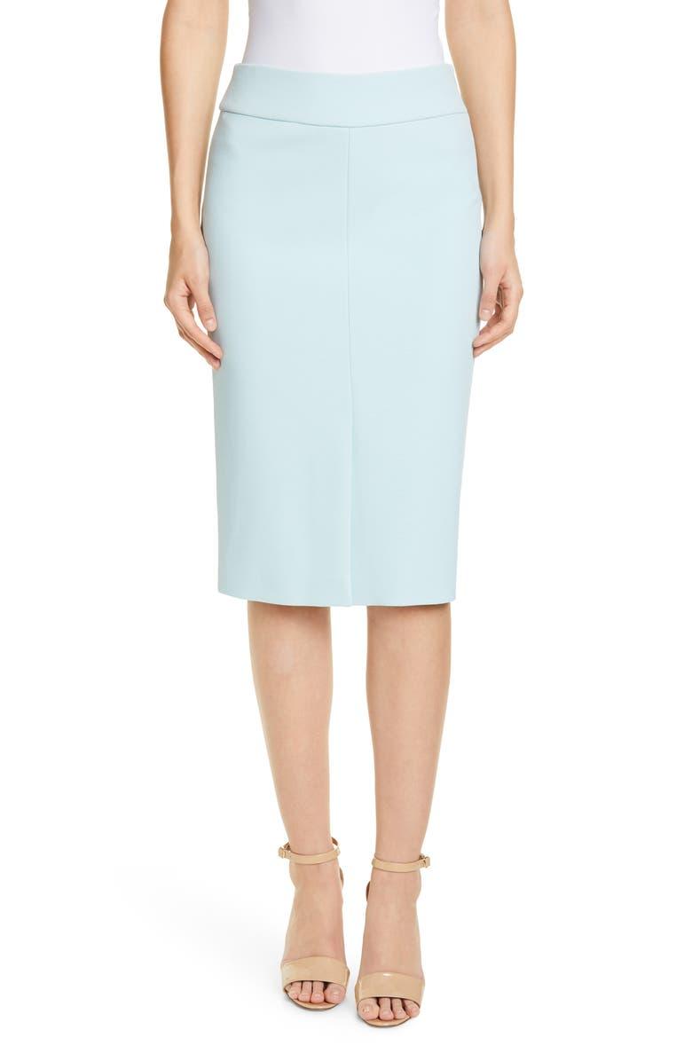 BOSS Vemiara Pencil Skirt, Main, color, MINT