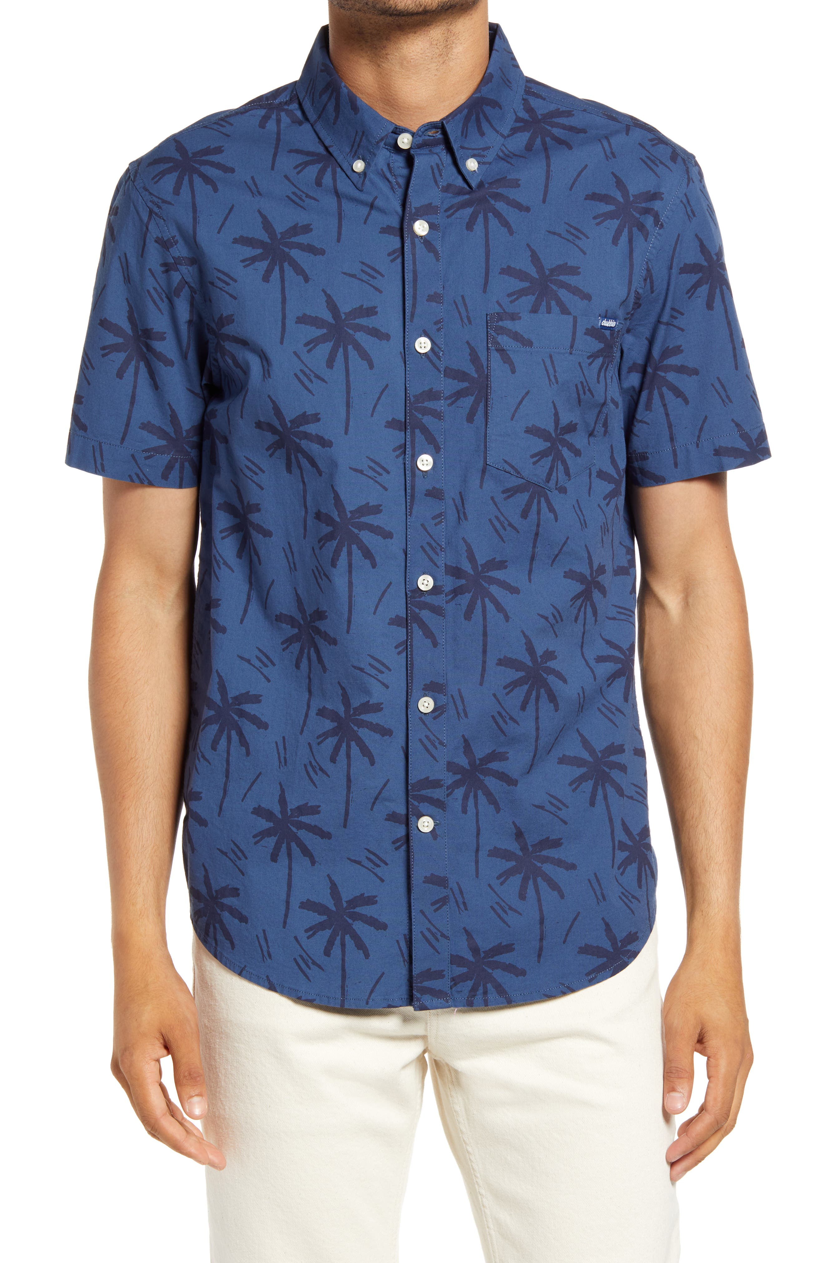 The Smooth Operator Short Sleeve Button-Down Shirt