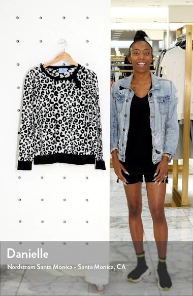 Leopard Cotton Sweater, sales video thumbnail