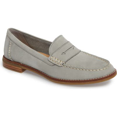 Sperry Seaport Penny Loafer- Grey