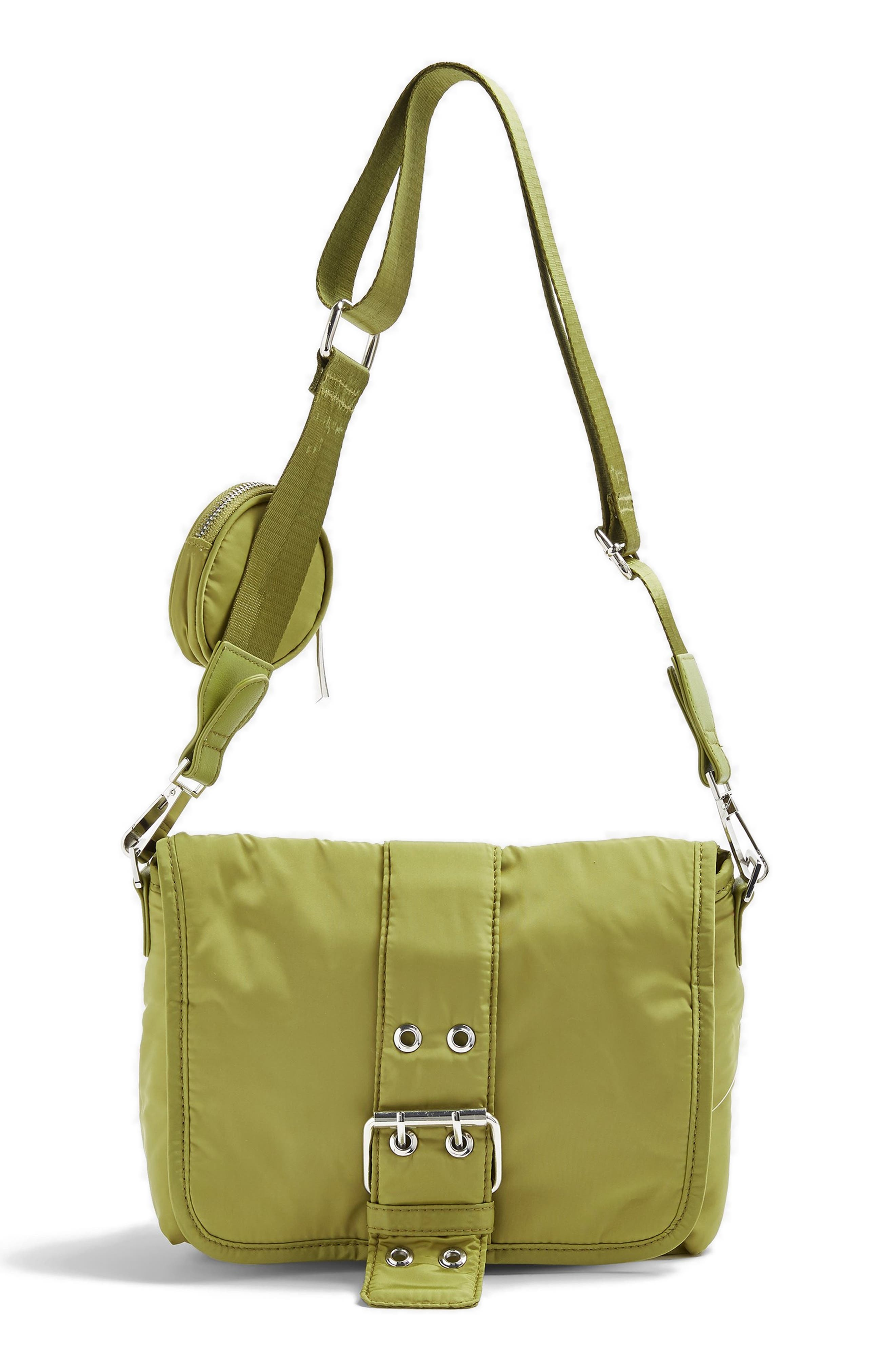 Image of TOPSHOP Buckled Crossbody Bag
