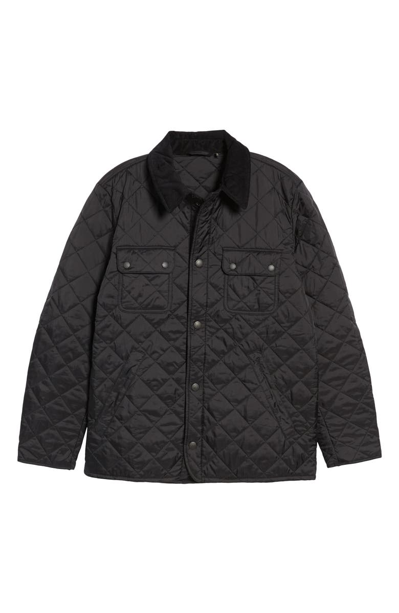 BARBOUR 'Tinford' Regular Fit Quilted Jacket, Main, color, 001