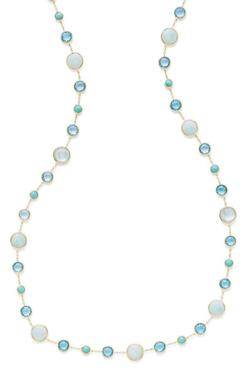 IPPOLITA Lollipop Lollitini Long Necklace, Main, color, GOLD