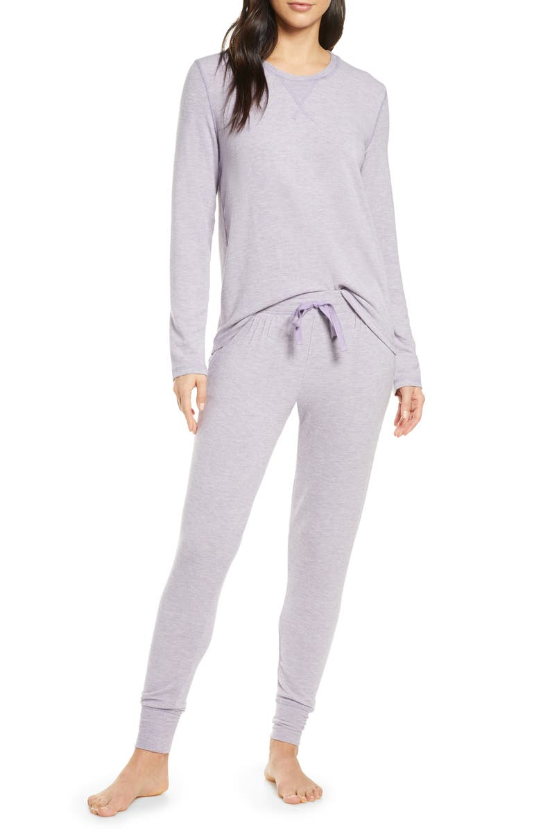 PAPINELLE Feather Soft Pajamas, Main, color, LILAC