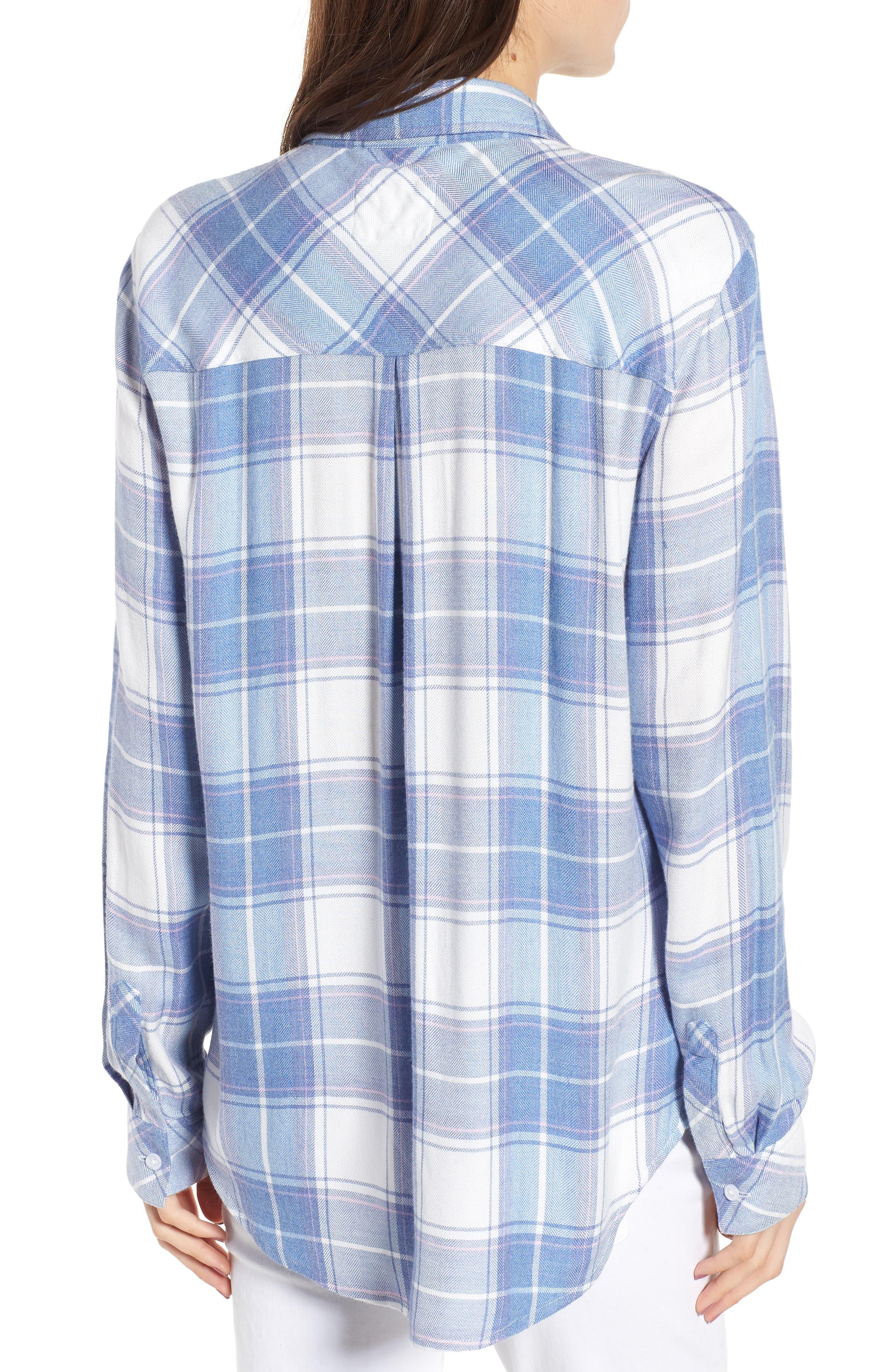 ,                             Hunter Plaid Shirt,                             Alternate thumbnail 676, color,                             190