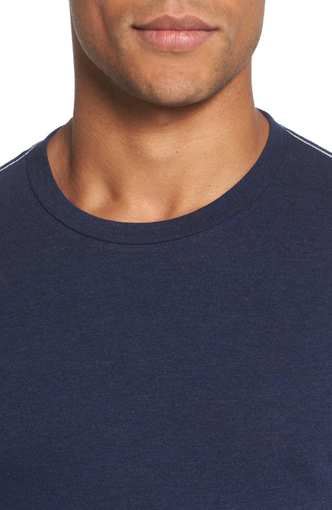 ,                             Triblend Scallop Long Sleeve Crewneck T-Shirt,                             Alternate thumbnail 29, color,                             400