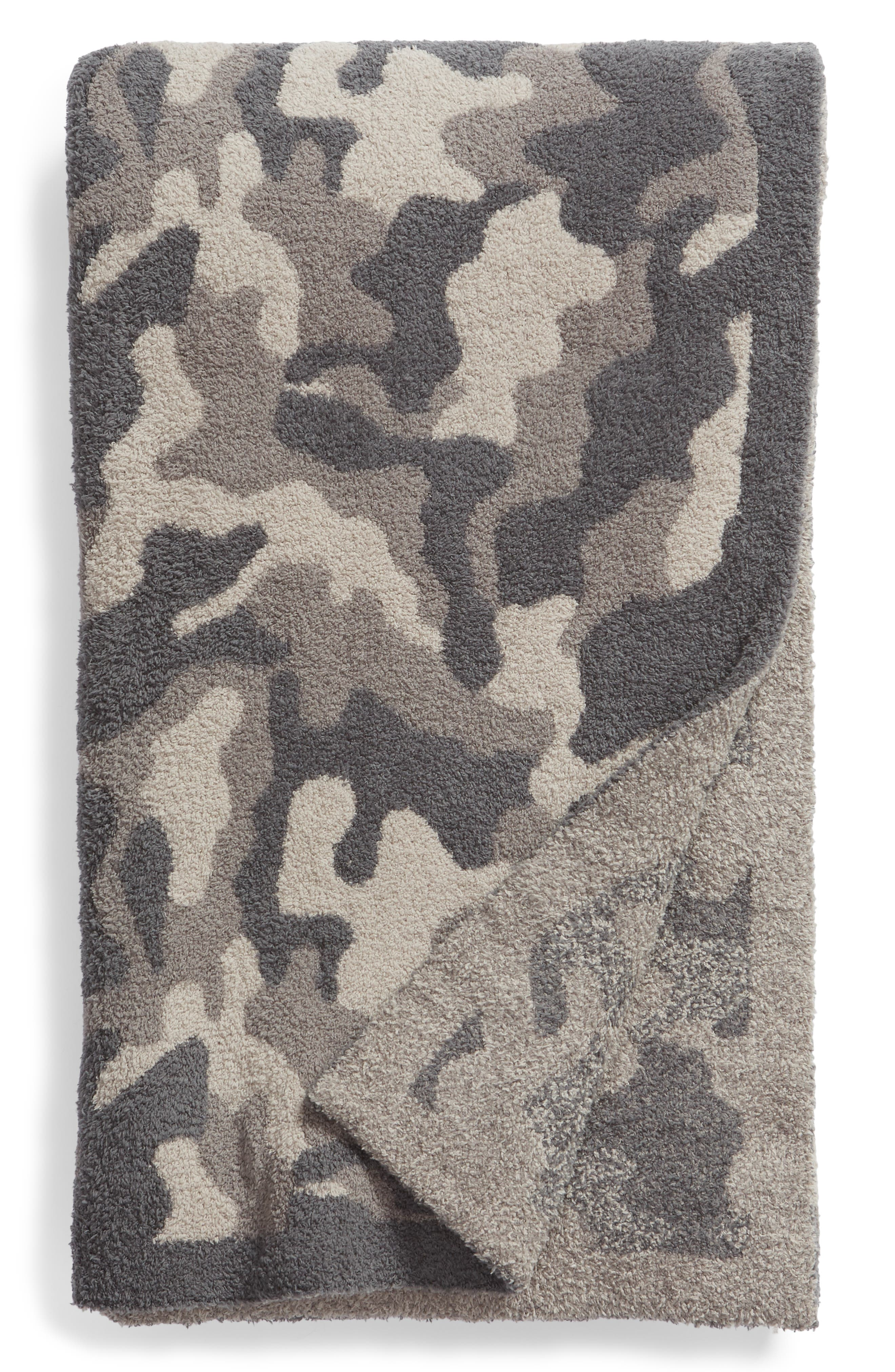 Cozy Chic® Camo Throw Blanket by Barefoot Dreams®