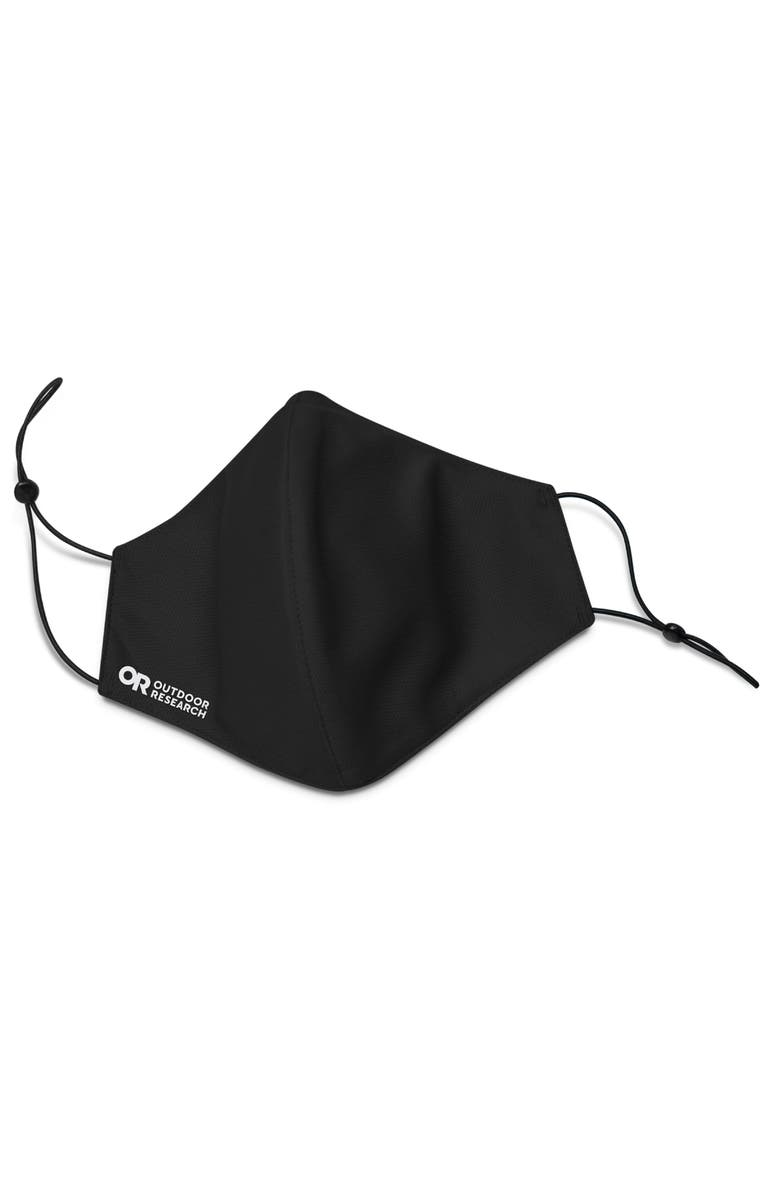 OUTDOOR RESEARCH Essential Adult Face Mask Kit, Main, color, BLACK