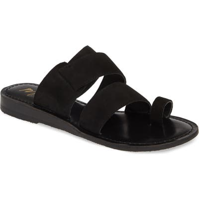 Matisse Good Time Slide Sandal, Black