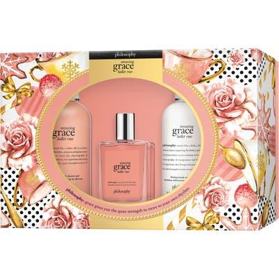 Philosophy Amazing Grace Ballet Rose Eau De Toilette Set (Limited Edition)