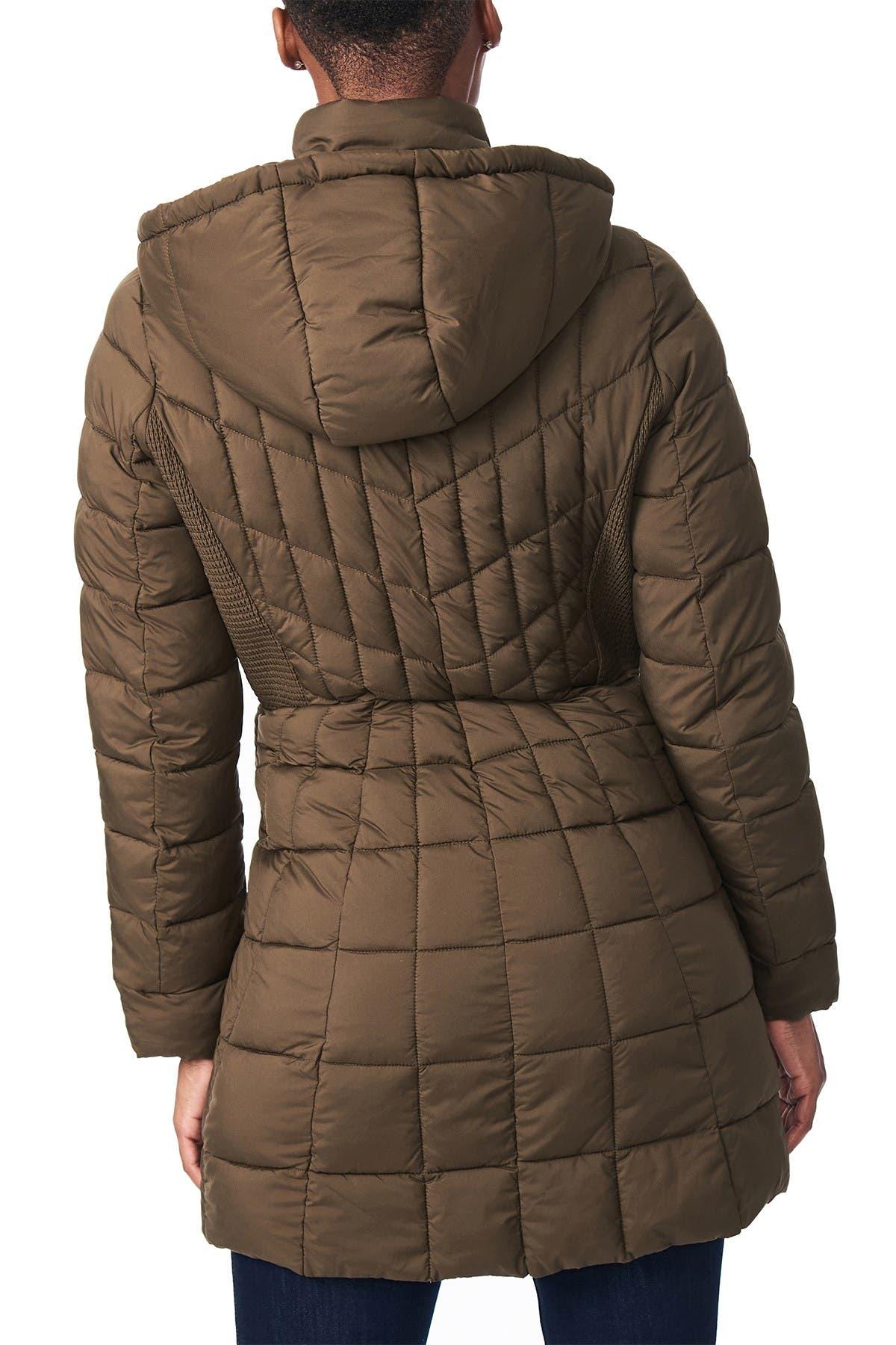 Bernardo Ecoplume Lightweight Puffer Coat