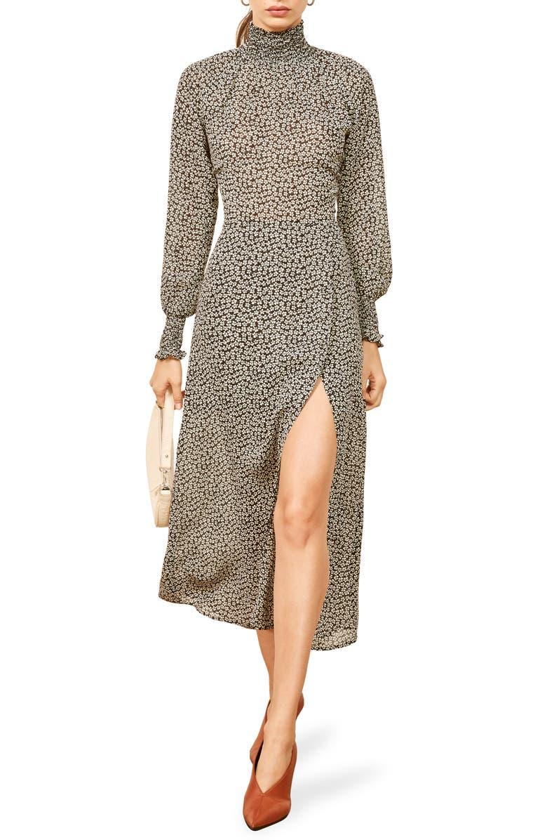 REFORMATION Georgina Maxi Dress, Main, color, 001