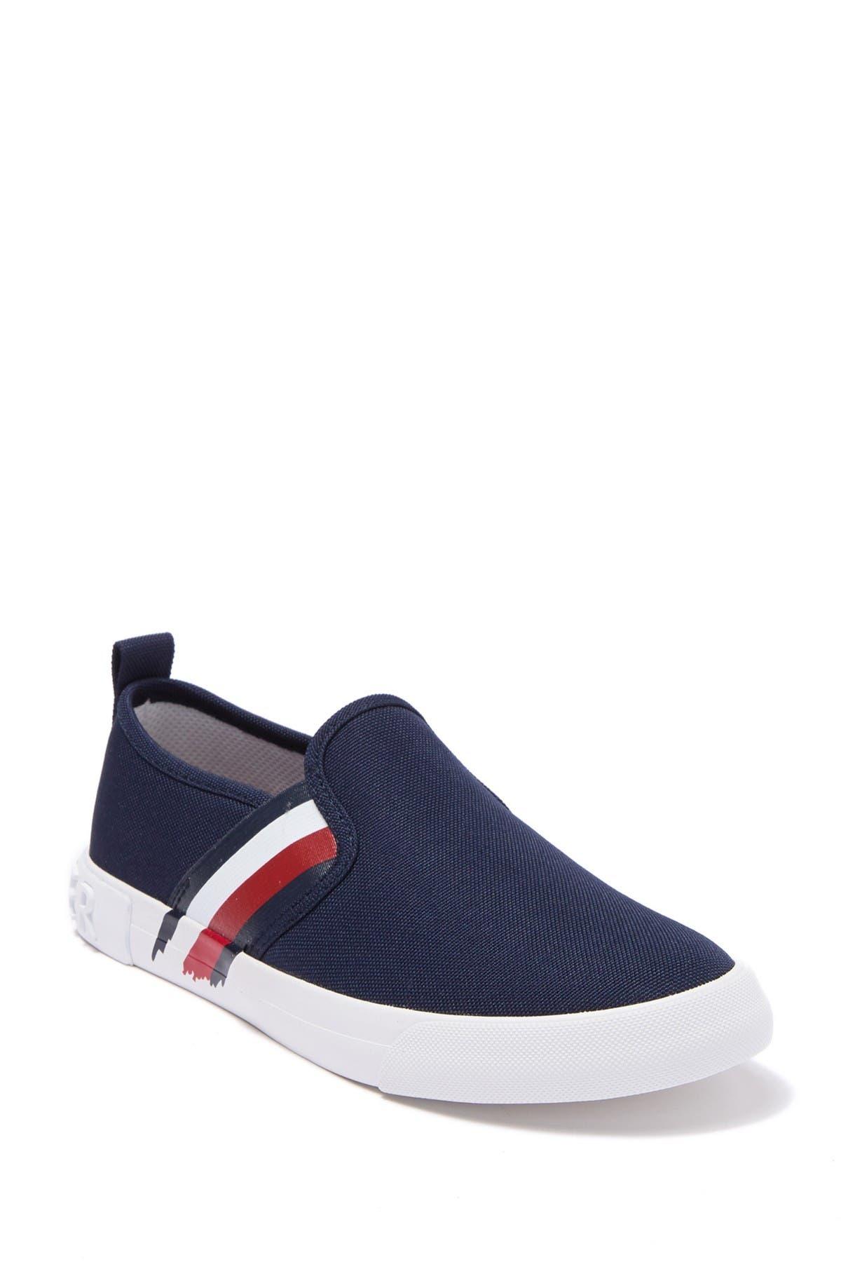 Image of Tommy Hilfiger Junna Painted Stripe Slip-On Sneaker