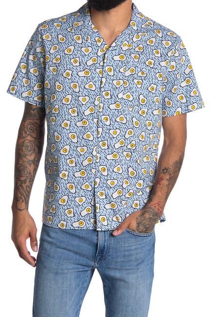Image of Abound Printed Short Sleeve Regular Fit Camp Shirt