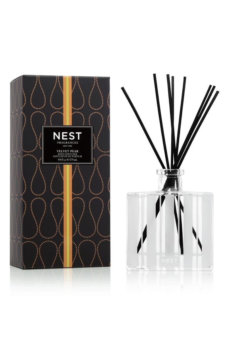 NEST FRAGRANCES Velvet Pear Reed Diffuser, Main, color, NO COLOR