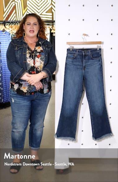 Julia High Waist Crop Flare Jeans, sales video thumbnail