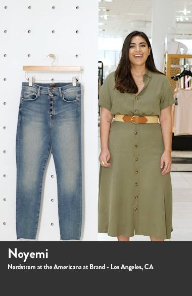 The Fly Cut Stunner Fray Hem Ankle Jeans, sales video thumbnail
