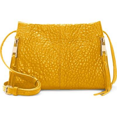 Vince Camuto Zani Leather Crossbody Bag - Yellow