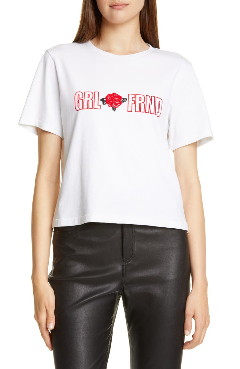 GRLFRND Darby Graphic Crop Tee, Main, color, 100