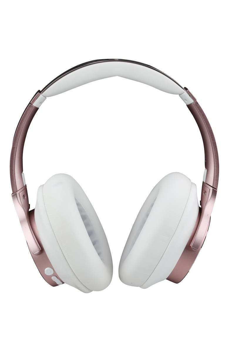 ALTEC LANSING ComfortQ+ Active Noise Canceling Wireless Headphones, Main, color, ROSE GOLD