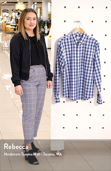 Swain Classic Fit Plaid Stretch Cotton Button-Down Sport Shirt, sales video thumbnail