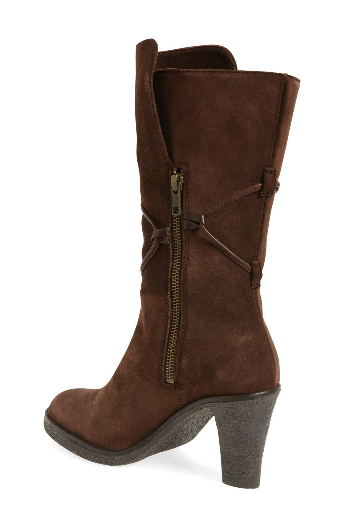 ,                             'Jeanie' Mid Calf Boot,                             Alternate thumbnail 6, color,                             200