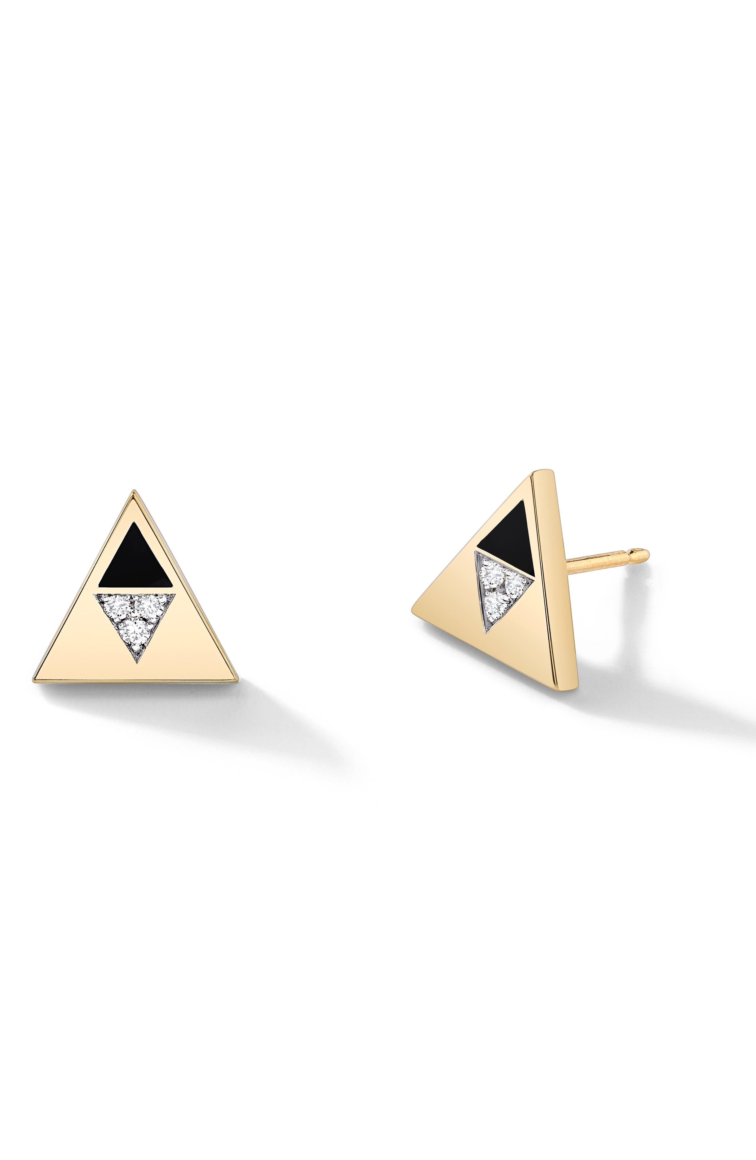Articulated Stud Earrings