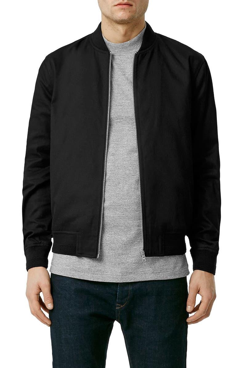 78c2a6221 Cotton Bomber Jacket