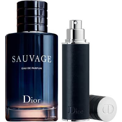 Dior Sauvage Full Size Eau De Parfum & Refillable Travel Spray