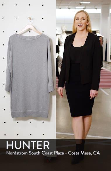 Cotton Terry Shift Dress, sales video thumbnail