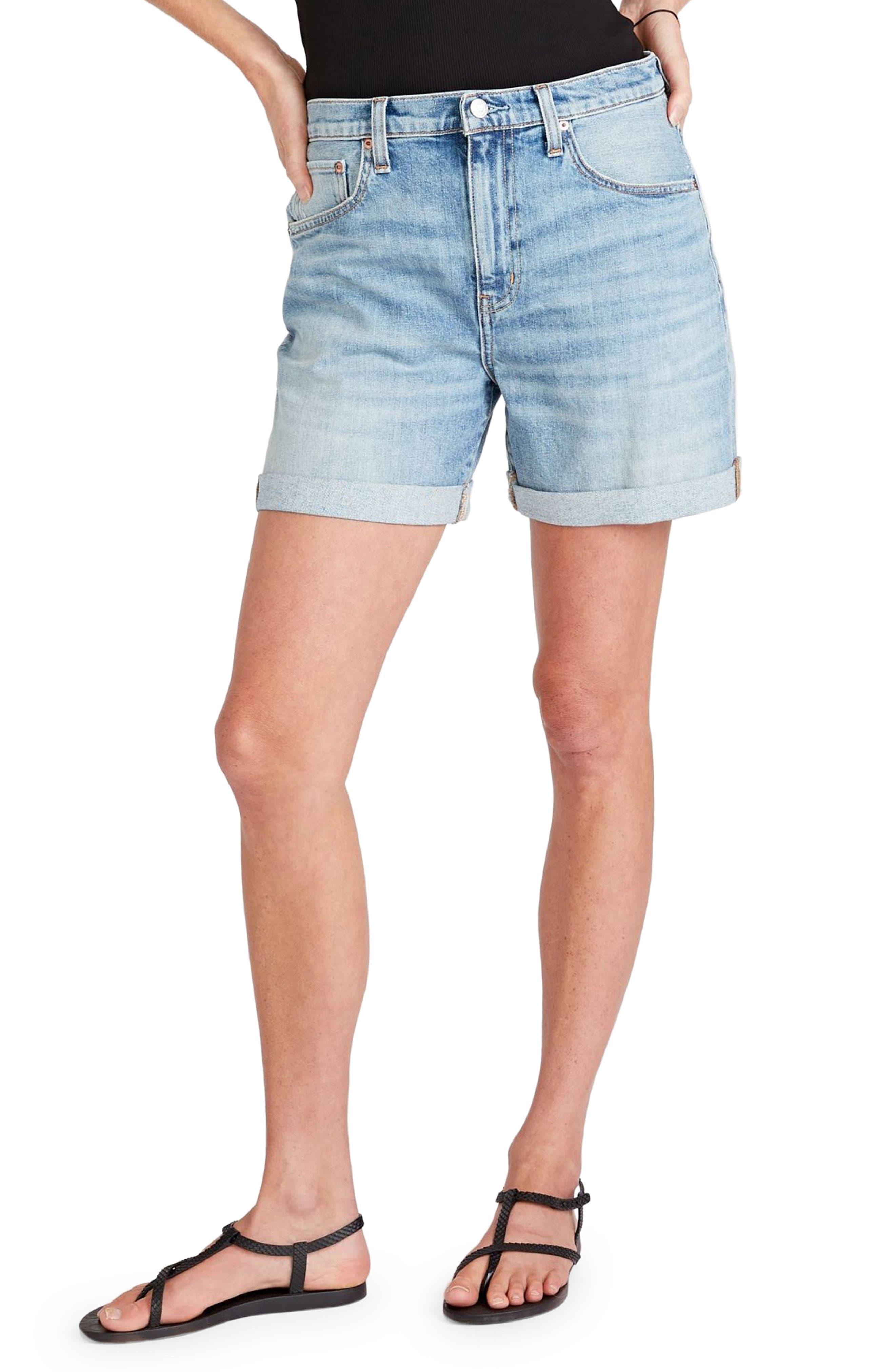 Women's Etica Skylar Rolled Cuff Denim Shorts