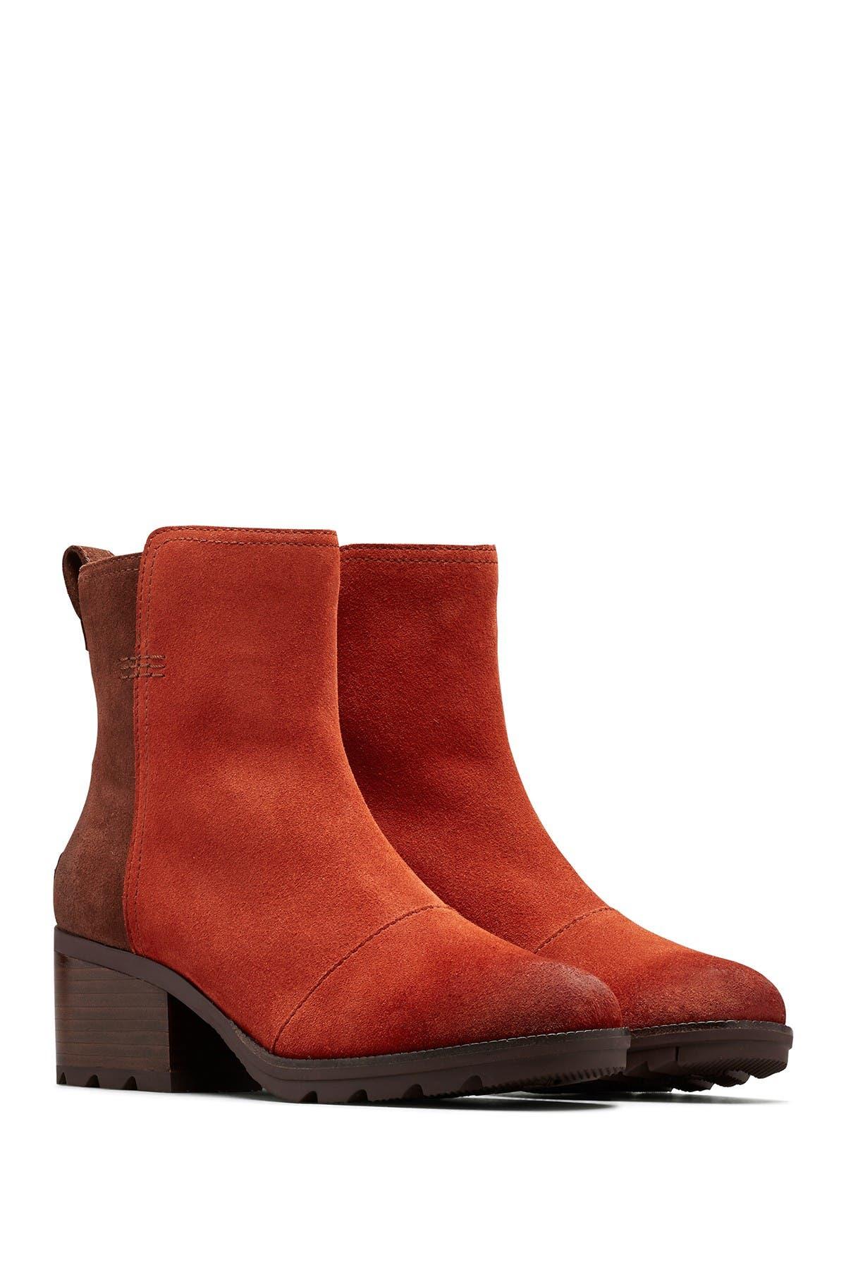 Image of Sorel Cate Waterproof Block Heel Bootie