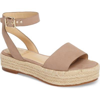 Vince Camuto Kathalia Platform Sandal, Brown