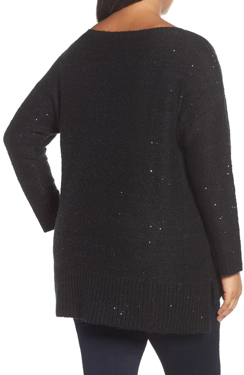 NYDJ Sequin Sweater, Main, color, 001